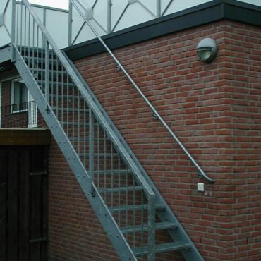 Balkontreppe aus Metall