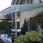 Terrassenüberdachung, Schmiedearbeiten in Rheine