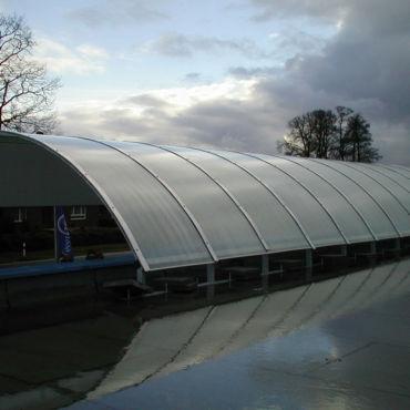 Überdachung und Windschutz in Rheine